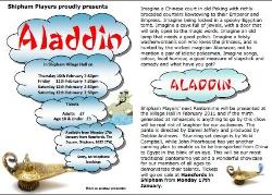 Aladdin - Flyer