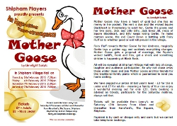Mother Goose - Flyer