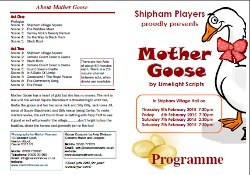 Mother Goose - Programme